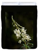 White Fireweed Duvet Cover