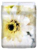 White Flower Duvet Cover