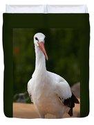 White Stork 4 Duvet Cover