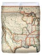 Map: United States, 1820 Duvet Cover