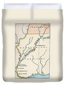 Natchez Trace, 1816 Duvet Cover