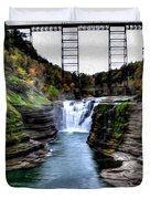 0032 Letchworth State Park Series  Duvet Cover