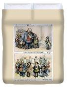 Nast: Tweed Corruption Duvet Cover