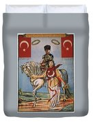 Republic Of Turkey: Poster Duvet Cover