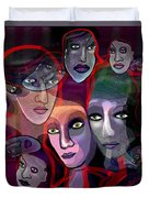 2636   Night In Their Eyes A Duvet Cover