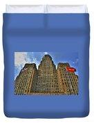 01 Buffalo Ny City Hall Duvet Cover