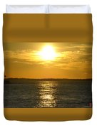 010 Sunset 16mar16 Duvet Cover