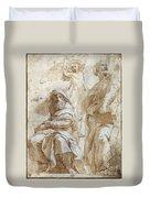 Raphael: Study, C1510 Duvet Cover