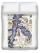 Marco Polo (1254-1324) Duvet Cover
