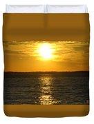 013 Sunset 16mar16 Duvet Cover