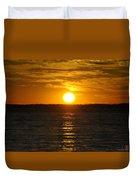 014 Sunset 16mar16 Duvet Cover