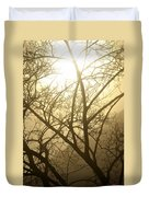02 Foggy Sunday Sunrise Duvet Cover