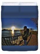 02 Me Sunset 16mar16 Duvet Cover