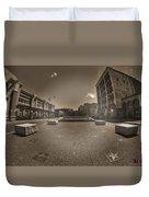 02 Plaza Of Stars Sepia Tone  Duvet Cover