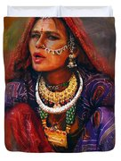 027 Sindh Duvet Cover