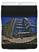 03 Conventus Medical Building On Main Street Duvet Cover