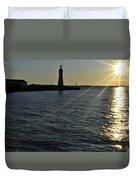 03 Sunset 16mar16 Duvet Cover