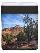 030715 Palo Duro Canyon 043 Duvet Cover