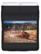 030715 Palo Duro Canyon 049 Duvet Cover