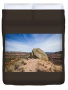 030715 Palo Duro Canyon 123 Duvet Cover