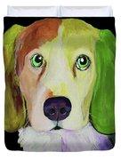 0356 Dog By Nixo Duvet Cover