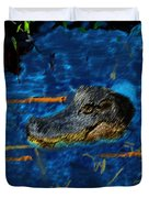 04142015 Gator Hole Duvet Cover