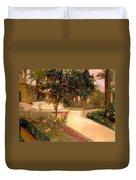 Garden Alcazar Seville Duvet Cover