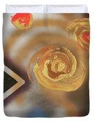 046 Thrice Golden Duvet Cover