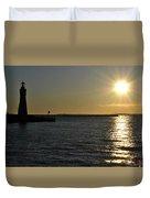 05 Sunset 16mar16 Duvet Cover