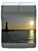 06 Sunset 16mar16 Duvet Cover
