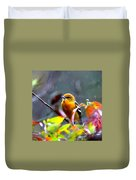 0651 - Baltimore Oriole Duvet Cover