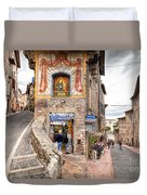 0755 Assisi Italy Duvet Cover