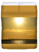 08 Sunset 16mar16 Duvet Cover