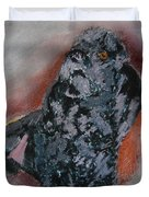 080315 Toy French Poodle Pemaw Duvet Cover