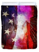 090 Look Up New York Duvet Cover