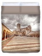 0954 Assisi Italy Duvet Cover