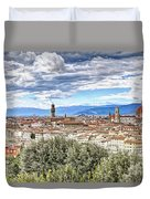 0960 Florence Italy Duvet Cover