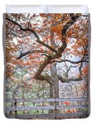 0981 Fall Colors At Starved Rock State Park Duvet Cover