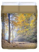 0983 Starved Rock Colors Duvet Cover