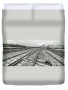 10th St. Tracks Duvet Cover
