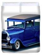 1928 Ford Tudor Sedan I Duvet Cover