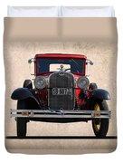 1931 Ford Model A  Duvet Cover