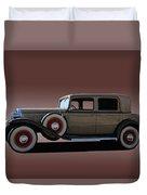 1932 Classic Buick 4 Door Sedan Duvet Cover
