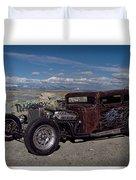 1932 Chevrolet Rat Rod Duvet Cover