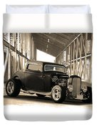 1932 Ford Lil' Deuce Coupe Duvet Cover