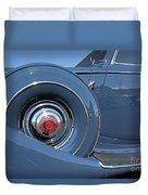 1937 Packard Automobile Duvet Cover