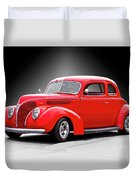 1938 Ford Five-window Coupe II Duvet Cover