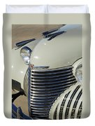 1940 Cadillac 60 Special Sedan Grille Duvet Cover