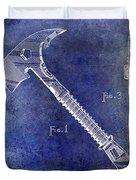 1940 Fireman Ax Patent Duvet Cover