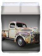 1946 Ford Pickup Truck Duvet Cover